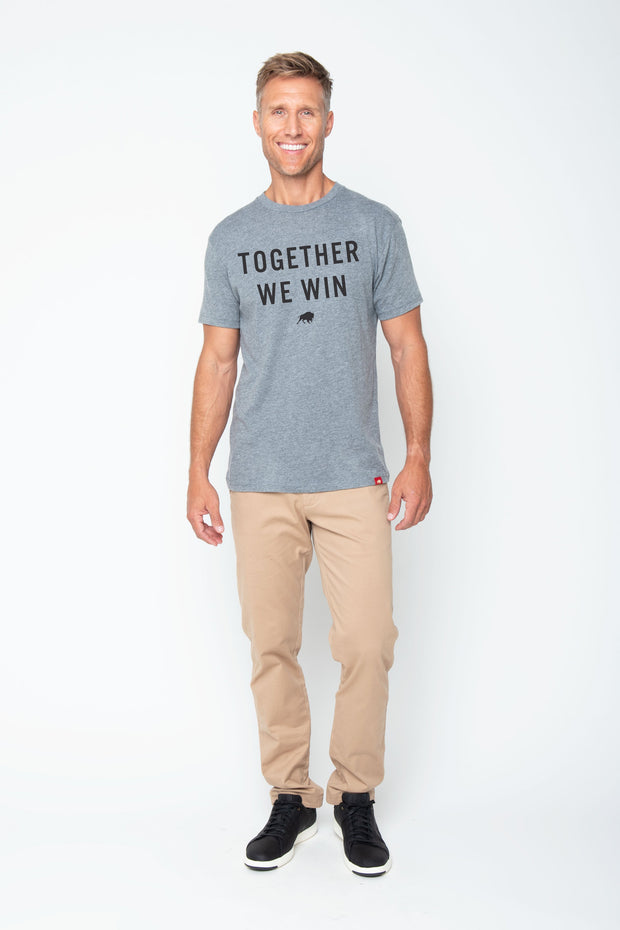 TOGETHER WE WIN COMFY TEE