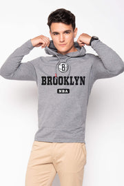 SPORTIQE BROOKLYN NETS GRAPHIC ROWAN HOODIE