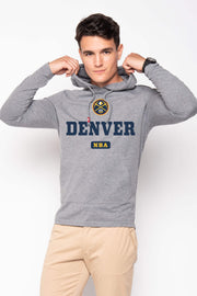 SPORTIQE DENVER NUGGETS GRAPHIC ROWAN SWEATSHIRT