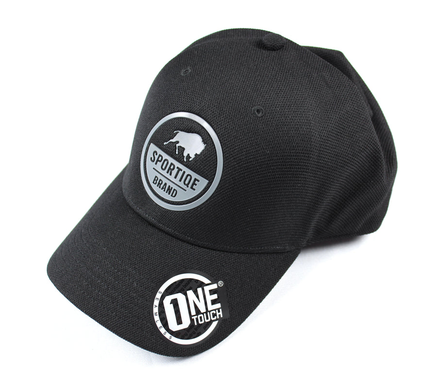 Sportiqe One Touch Rubber Patch Hat