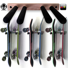 SkateHoarding® Vertical Skateboard Wall Rack