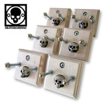 6-Pack Skateboard Deck Wall Mount Hanger Display