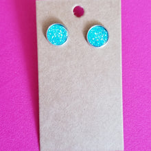 Load image into Gallery viewer, Large Druzy Stud Earrings