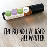 The essential oil blend I have been using all winter
