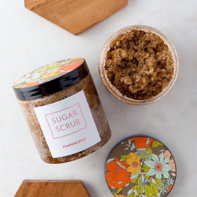 Sugar Scrub • Pumpkin Spice • Labels and Recipe