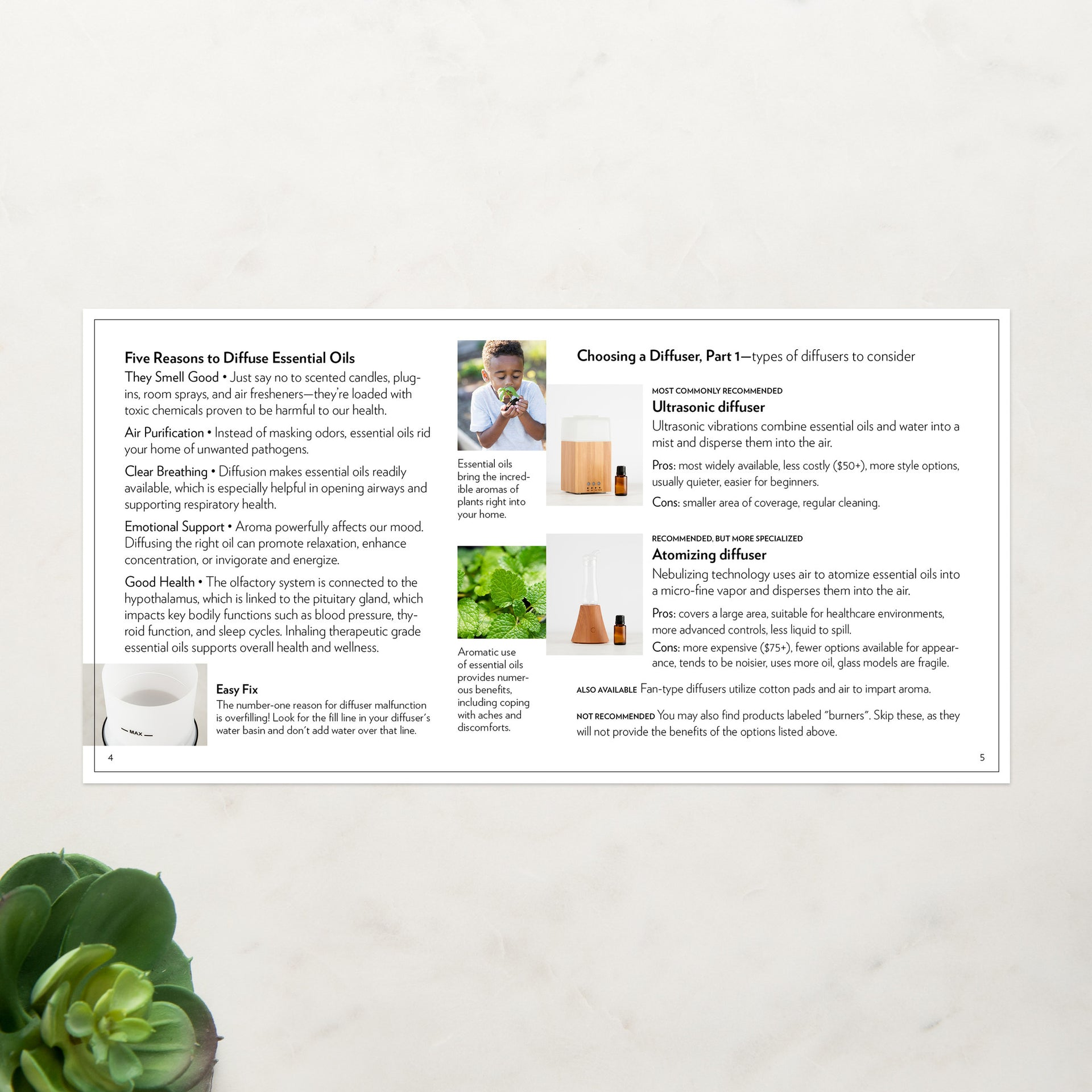 Diffuser Recipe Booklet