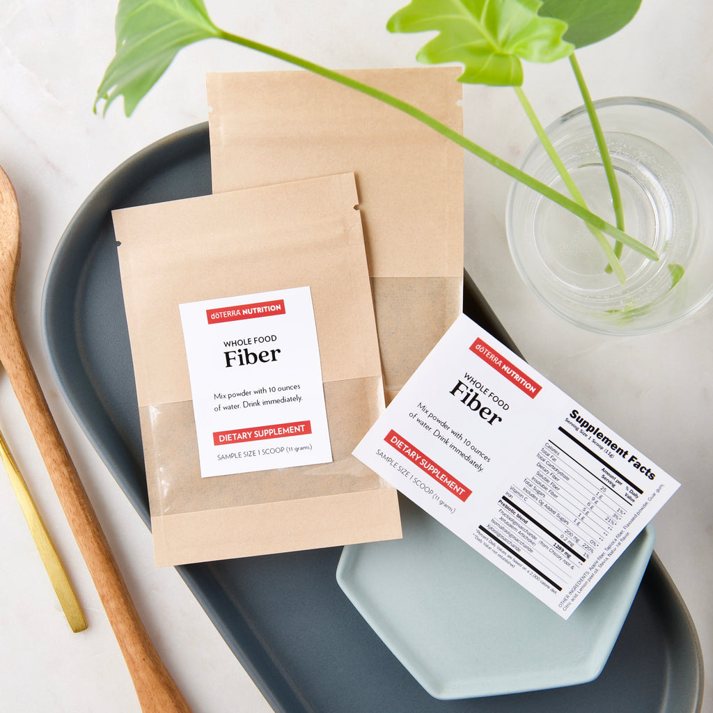 Fiber Sample Pouches + Labels