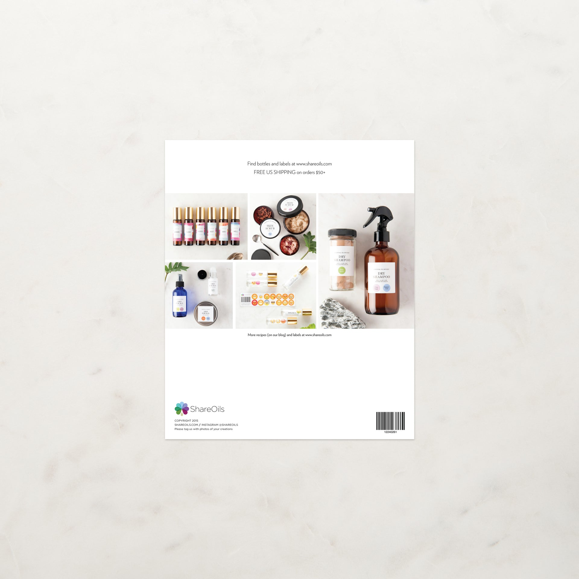 Spray & Roller Recipes Booklet