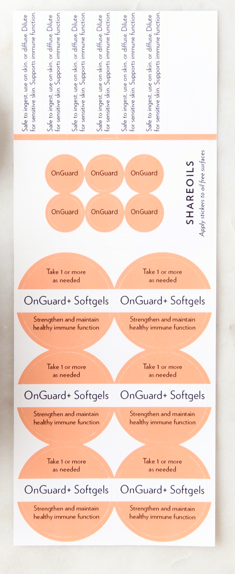 BOGO • Sample Sticker set (1 free sheet)