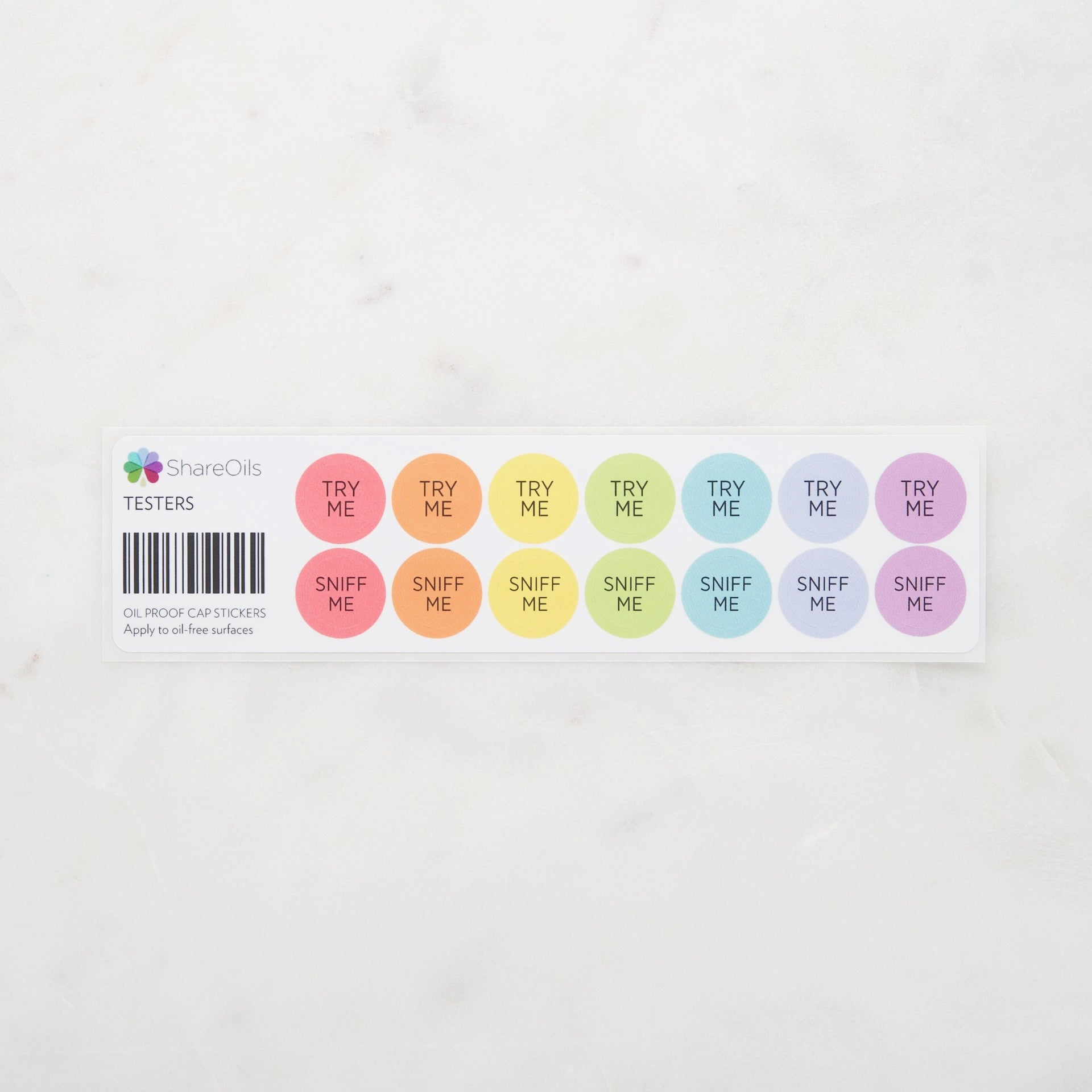 Cap Stickers – 50 Options Available