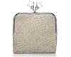 Nina glitter cross body clutch bag