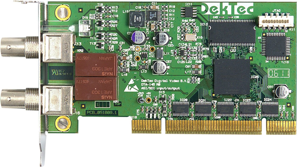DekTec Dual ASI/SDI Input and Output Card