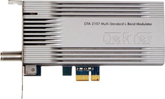 DekTec Multi-Standard L-Band Modulator for PCIe