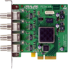 DekTec Quad ASI/SDI Input and Output Card