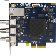 DekTec GigE/ASI Input and Output Card