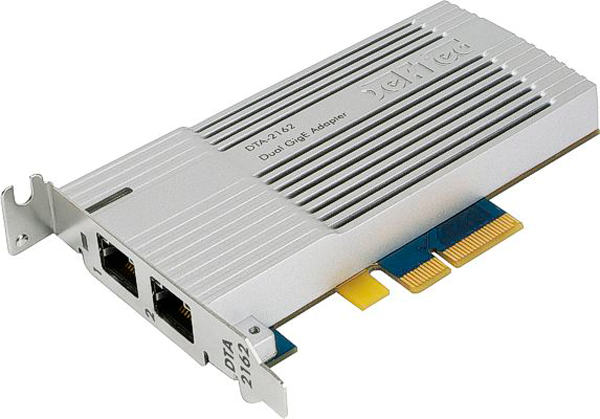 DekTec Advanced Dual GigE Card