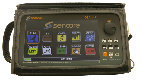 DSA 1491 - SAT/CATV/TV Signal Analyzer