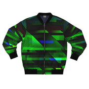 Green streams  Bomber Jacket