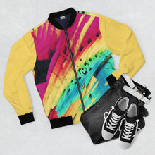 Load image into Gallery viewer, Rainbow 7 Bomber Jacket
