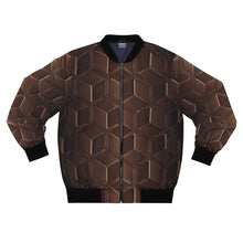 Load image into Gallery viewer, Bronzy Hex Bomber Jacket