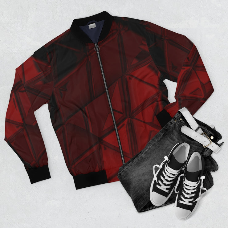 Red Triangle Hunt Bomber Jacket