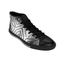 Load image into Gallery viewer, High-top metallic silver