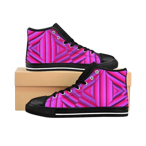 High-top Pink Metal