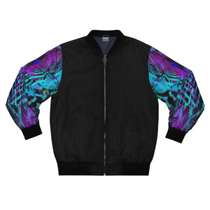 XStaticBlue Bomber Jacket