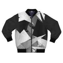 Load image into Gallery viewer, Geo Camo Bomber Jacket