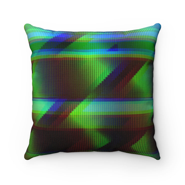 Green error Pillow Case