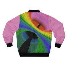 Load image into Gallery viewer, Rainbow 7T Bomber Jacket