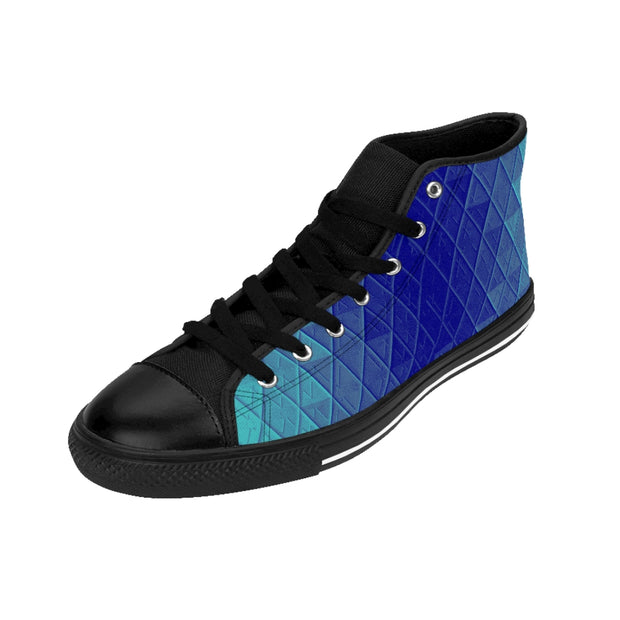 Blue Bayou High-top Sneakers