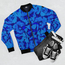 Load image into Gallery viewer, Oceans Abundance Bomber Jacket