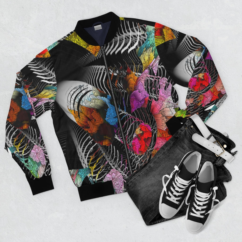 Color Abundance Bomber Jacket