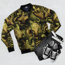 Load image into Gallery viewer, Golden Art /ifacts\ Bomber Jacket