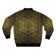 Golden Hex Bomber Jacket