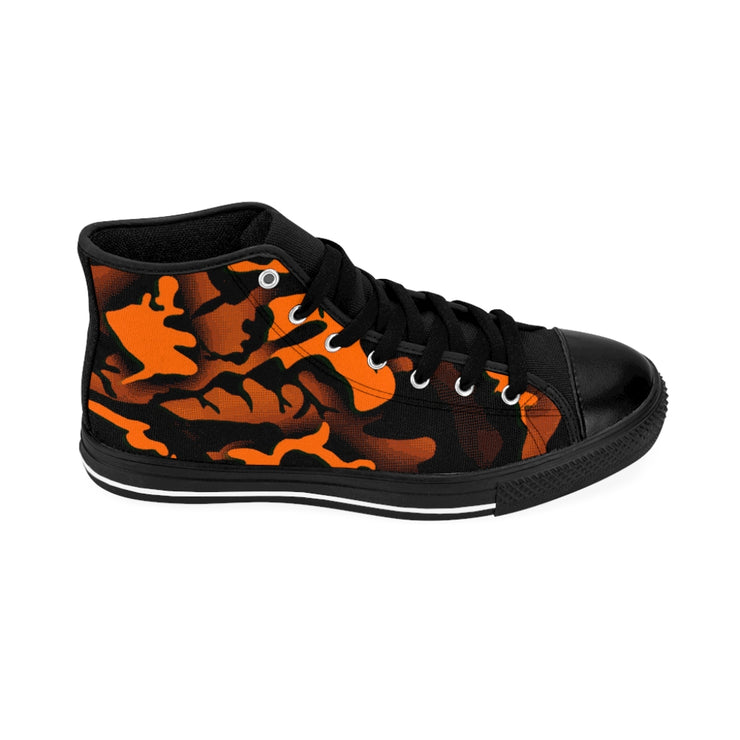 Orange county camo High-top Sneakers