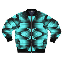 Load image into Gallery viewer, Ice Blue ROX Bomber Jacket