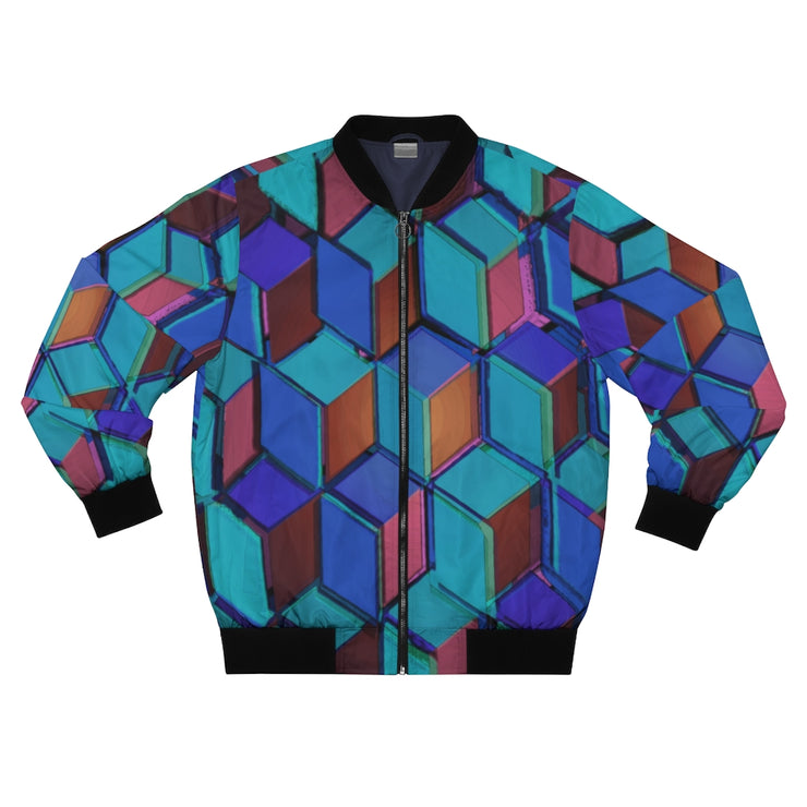 Outside the boxes Bomber Jacket