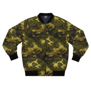Camo Gold Bomber Jacket