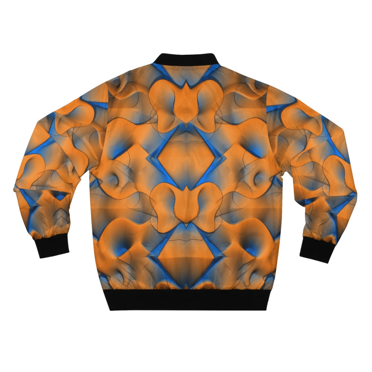 Orange Shells Bomber Jacket