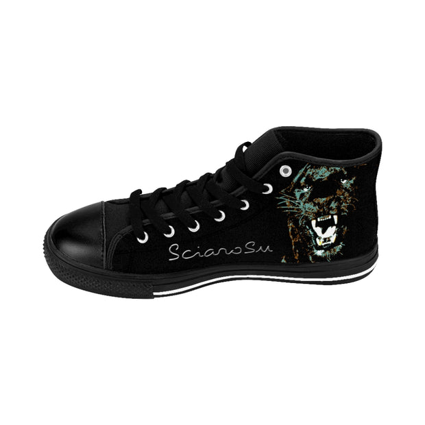 Black Puma's Roses High-top Sneakers