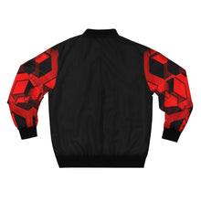 Load image into Gallery viewer, 3D Cubed Bomber Jacket