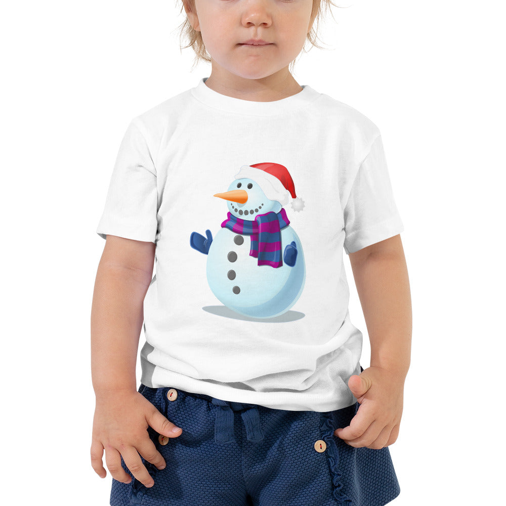 Toddlers love snowyman