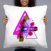 Cushion Blowing Color Triangles