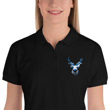 Load image into Gallery viewer, Reindeer embroided christmas polo - Sciarosu