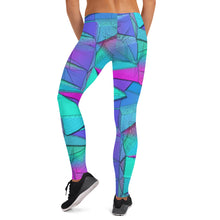 Load image into Gallery viewer, Icy Blue Tri Leggings