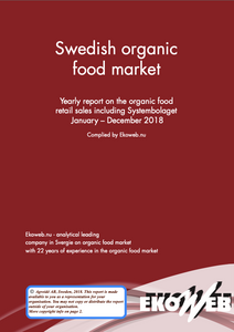 Swedish Organic Food Market 2018 - Ekoweb - Multi user