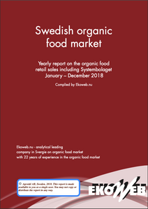 Swedish Organic Food Market 2018 - Ekoweb - Single user