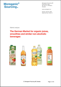 German market for organic juices and other non-alcoholic beverages - 2020 - single user
